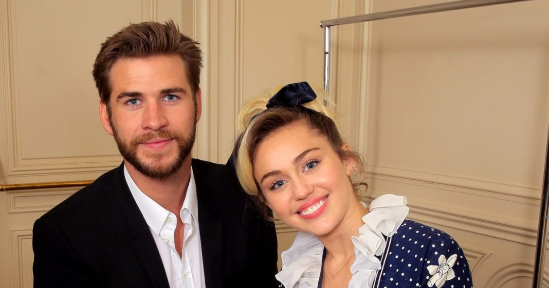 Miley Cyrus cu Liam Hemsworth