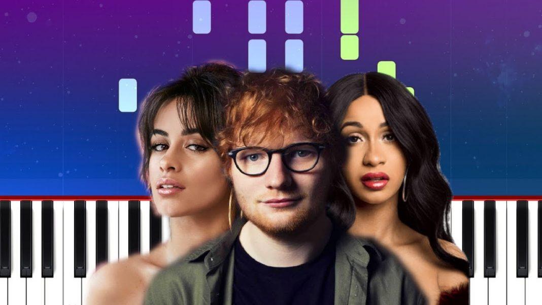 Ed Sheeran, Camila Cabello & Cardi B - South of the border