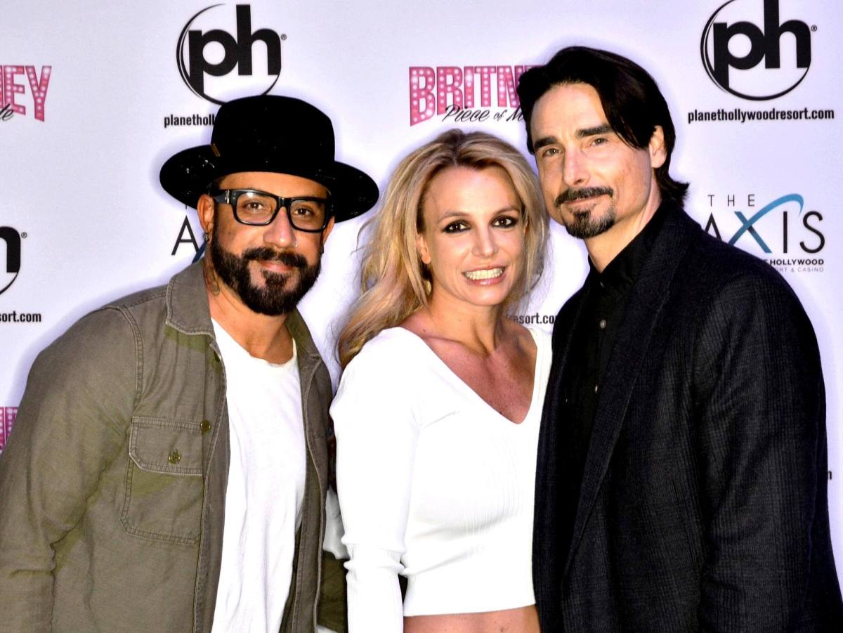 Britney Spears şi Backstreet Boys